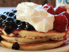 Red, White & Blue pancakes at IHOP