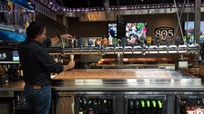 Pouring beer at Firestone Walker - The Propagator in Venice